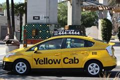 Yellow Cab (So Cal Metro) Tags: cab taxi yellowcab prius toyota hybrid taxicab escondido
