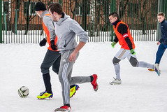 *** (Artur (RUS) Potosi) Tags: 2013 football footballer soccer guy man sport outdoor sports snow winter