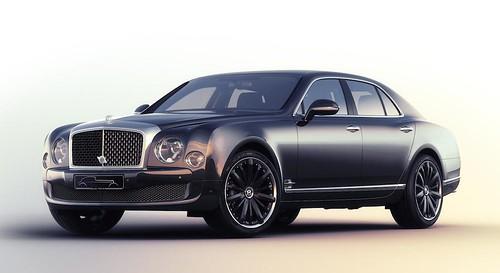 Bentley Muslanne Speed Blue Train