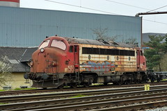 P1920340 (Lumixfan68) Tags: eisenbahn padborg loks baureihe nohab my dieselloks railcare sechsachser