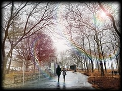 The Journey (Dr. Zaw) Tags: street wallpaper sky love scenery couple colorful walk together romantic note3