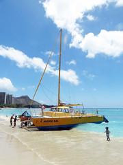 Manu Kai (BarryFackler) Tags: ocean life trip sea vacation sky beach water clouds island hawaii pol