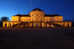 Schloß Solitude (Pinky0173) Tags: castle germany stuttgart outdoor architektur bluehour schloss gebäude blauestunde schlos solitide pinky0173 thrunfotografiede