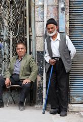 Local men stand at Bazar-e Vakil, Shiraz / Iran (anji) Tags: iran shiraz  islamicrepublicofiran