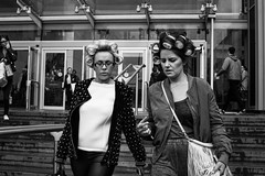 Curlers, Manchester 28.3.15 (krishudds) Tags: hair manchester women streetphotography curlers