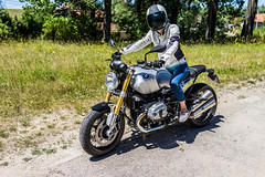 R9T vs POLARIS (svetlinnikolaev) Tags: bmw rninet r9t polaris trike