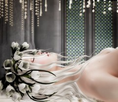BA - Ophelia's sleep (~ oudicca ~) Tags: avatar secondlife virtualworld maitreya 3d windlight firestormviewer lelutka argrace lode glamaffair anc portrait female digital digitalart