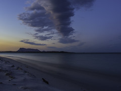 Maestrale (Lumase) Tags: maestrale sea sunset tavolara santeodoro lacinta sardinia sardegna beach longexposure cloud landscape nobody windy seascape beautyinnature topf25