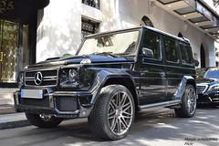 Mercedes G63 AMG 2016 (Monde-Auto Passion Photos) Tags: auto paris france mercedes automobile noir 4x4 classe amg