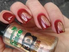 Risqu - Possesso Rosa + 5Cinco - Hot Site (Barbara Nichols (Babi)) Tags: 5cinco hotsite dourado cobertura golda risqu vermelho red rednailpolish
