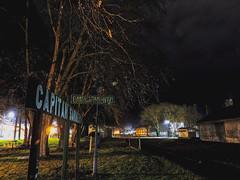 Capitan Sarmiento (walteralarcon) Tags: capitan sarmiento night estacion pueblo