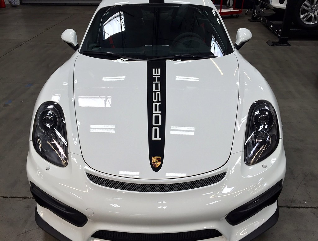 Pro Tect Film Powered By Xpel 2016 Porsche Cayman Gt4