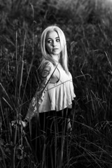 Samantha (micadew) Tags: bnw bw blackwhite blackandwhite blondhair blondes monochrome beautiful beauty beautyshoots gorgeous sexy portrait portraits naturallight mothernature sacramento