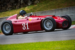 8 million dollar man (ISP Bruno Laplante) Tags: old red man classic car sport race vintage one 1 8 ferrari dollar million summit formula legend 31 monttremblant lancia d50a