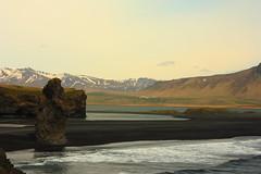 Iceland - Day 4 - Dyrhlaey (Ryno du Plessis) Tags: iceland lagoon dyrhlaey basalt stack beach sea ocean katla arnardrangur