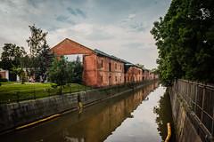 Обводный канал в Кронштадте