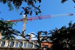Grue  tour LIEBHERR EC-B (xavnco2) Tags: plant france crane equipment kran amiens grue ecb picardie chantier gru somme liebheer