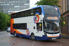 Stagecoach Western 10525 SN16OMO (Will Swain) Tags: glasgow buchanan street bus station 16th june 2016 buses transport travel uk britain vehicle vehicles county country scotland scottish north northern central city centre stagecoach western 10525 sn16omo cumbernauld