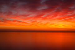 Lake Michigan Sunrise (romanboed) Tags: leica m 240 summilux 50 sunrise sky clouds red lake water waves michigan chicago usa us morning summer horizon sun energy resource landscape travel art waterscape light sunlight daybreak day new