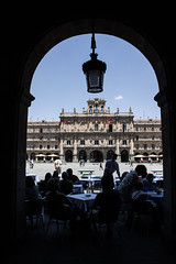 Piazza Salamanca (concasalice) Tags: plaza old urban town arquitectura salamanca intervencion urbanism palaces quadrato palazzi prospettiva