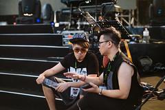 Stanley & Alex (Randy Wei) Tags: music musicians concert live performance fujifilm speedmaster zhongyi xe1 mitakon