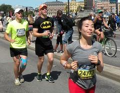 Marathon eye contact (bokage) Tags: sweden stockholm bokage sport marathon running stockholmmarathon