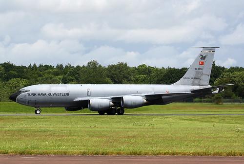 1963 Boeing KC-135R Stratotanker 62-3563 - Turkish Air Force - RIAT 2016 - RAF Fairford