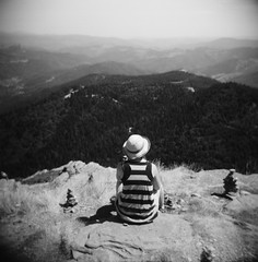 Tam - Mont Gerbier de Jonc, Ardche (Ludovic Macioszczyk Photography) Tags: tam mont gerbier de jonc ardche holga cfn 120 kodak tmax 100 iso aot 2015 road trip holidays vacances expired sun nature countryside sky light ludovic macioszczyk analog photography plastique plastic toy camera cheap film pellicule low fi lomography lomographie vintage photo photographie argentique keep the alive ludos photographs france life shoot art picture world photographe m contraste contrast exposure ngatif dveloppement scan appareil lumire vie  tag monde earth lens