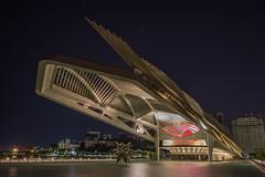 Museum of Tomorrow (Rodolfo Ribas) Tags: santiago calatravas museum tomorrow santiagocalatrava museumoftomorrow d7200 nikon riodejaneiro night
