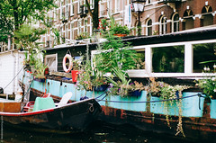 Amsterdam, As Seen from Water Level (Amsterdamming) Tags: amsterdam boattour houseboat summer water amsterdamcanals