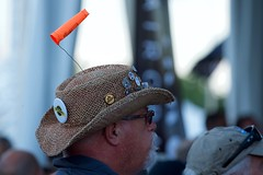 Windy hat (Mike Miley) Tags: osh16 aircraft airplane airventure eaa hats oshkosh windsock