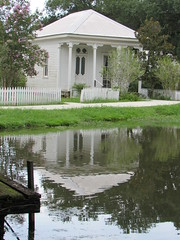 IMG_6054 (halffullpl) Tags: acadianvillage louisiana buildings structure history architecture old historic village acadian pattylebedhessphotos water reflection