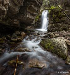 2nd Falls @ Troll Falls (Scott Martin Calgary) Tags: kananaskis alberta canada ca trollfalls waterfalls waterfall longexposure