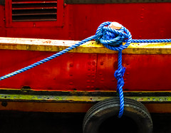 BRY_20160308_IMG_8143_ (stephenbryan825) Tags: albertdock liverpool abstracts boats details graphic minimalist red reflection ropes selects vessels vivid water