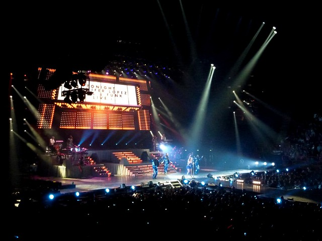 Jennifer Lopez - Dance Again World Tour - Bercy, Paris (2012)