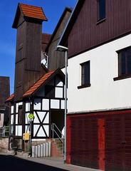 (:Linda:) Tags: germany thuringia village brden halftimbered feuerwehrhaus firedepartment