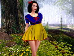 """Snow White at Fable """"preview"""" (Ticha31) Tags: dac snow white fable preview evilbunnyproductions"""