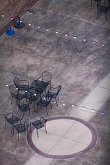 West Street Market at dusk (quinn.anya) Tags: weststreetmarket dusk lights chairs reno
