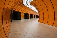 Back to Munich *Explore* (sarah_presh) Tags: marienplatz munich metro germany underground station tube orange patterned lights nikond750