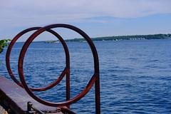 DSCF6630 (dltree76) Tags: pier wharf dock ocean sea shore seaside water lake river ladder