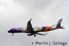 G-FBEM Cancer Research livery (Martin J. Gallego. Siempre enredando) Tags: gfbem flybe embraer embraer195 embraer195lr avion airplane planespotting leal alc alicante plane aeroplano