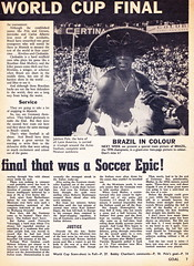 Goal Magazine - 27/06/1970 - Page 7 (The Sky Strikers) Tags: goal magazine world cup special mexico 1970 greatest soccer weekly magzine 1s 6d
