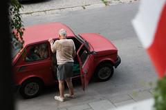 Fewer roads (salahudin's paragnomen) Tags: krakw krakoff street man human urban city old salahudin polska poland