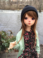 By The River (adachimerica) Tags: abjd bjd bluefairy tommy tiny fairy