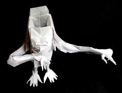 ORIGAMI - BRAINLESS ! (V.2) (Neelesh K) Tags: neelesh origami brainless boxpleating grids k 32