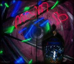 Vision of a Starry Night (isleen72) Tags: photochallenge2016 photochallengeorg abstract art light painting urn