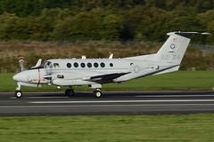 168204-PIK170916 (MarkP51) Tags: 168204 beech uc12w super kingair usmarines military transportusmcprestwickairportpikegpkscotlandaviationaircraftairplaneplaneimagemarkp51nikond7200aviation photography