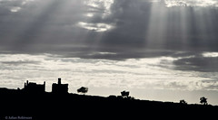 Ruins, South Australia (aaardvaark) Tags: 2016aa0530mg6237 ruins landscape hawker southaustralia godlight sky clouds silhouette