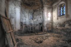 """"""" La difficile strada della fede"""" (Giovanni Cedronella) Tags: abandoned architecture shadows dust door dreem decay forgotten window light urbex"""