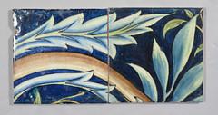 William Morris 'Membland' tiles (robmcrorie) Tags: de crafts arts william tiles morris morgan poole williammorris 1870s 1880s demorgan williamdemorgan membland